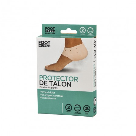 FOOT WORKS® - Silicone heel...